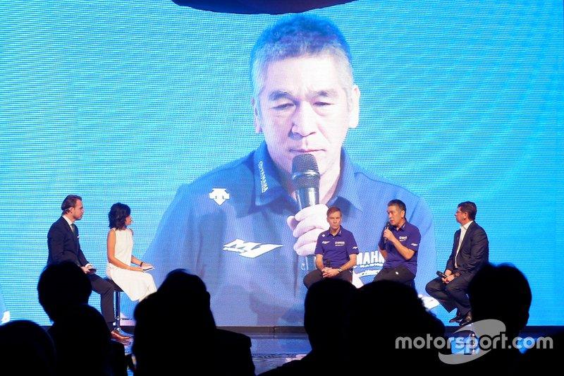 Kouichi Tsuji, President of Yamaha Motor Racing