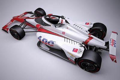 Hildebrand Indy 500 livery