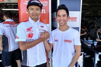 Dimas Ekky and Gerry Salim, Astra Honda Racing Team