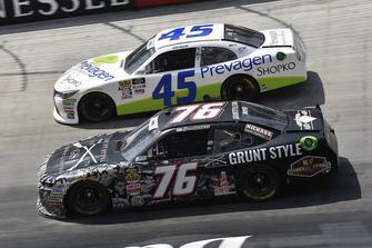 Spencer Boyd, SS Green Light Racing, Chevrolet Camaro Grunt Style and Josh Bilicki, J.P. Motorsports, Toyota Camry Prevagen