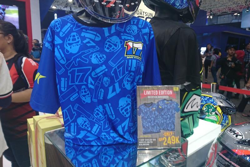 Merchandise kaus Karel Abraham