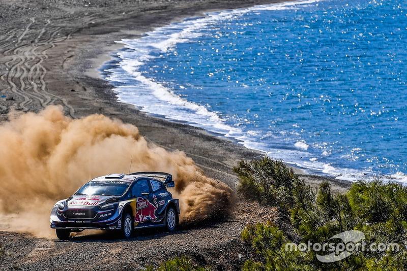 Себастьен Ожье и Жюльен Инграссиа, M-Sport Ford WRT Ford Fiesta WRC