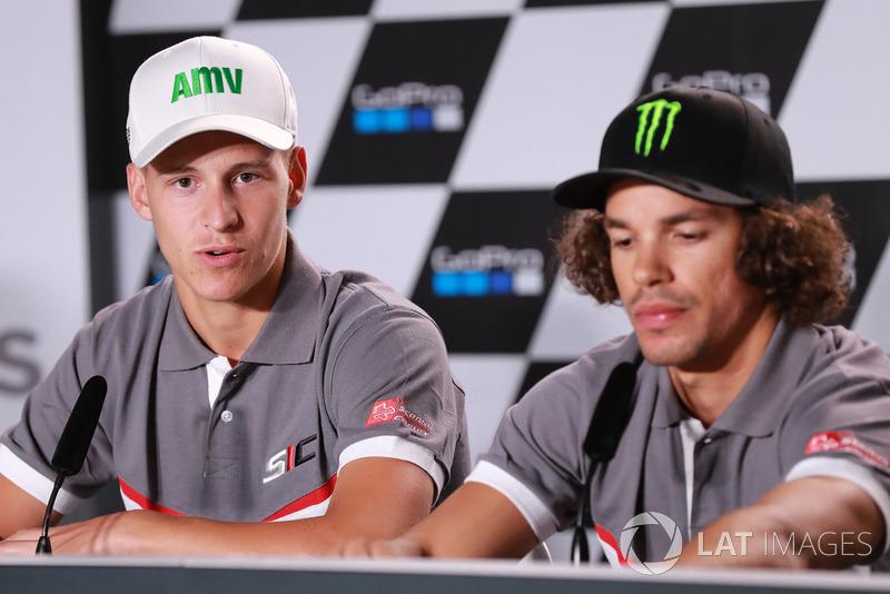 Fabio Quartararo and Franco Morbidelli, Petronas Yamaha Sepang Racing