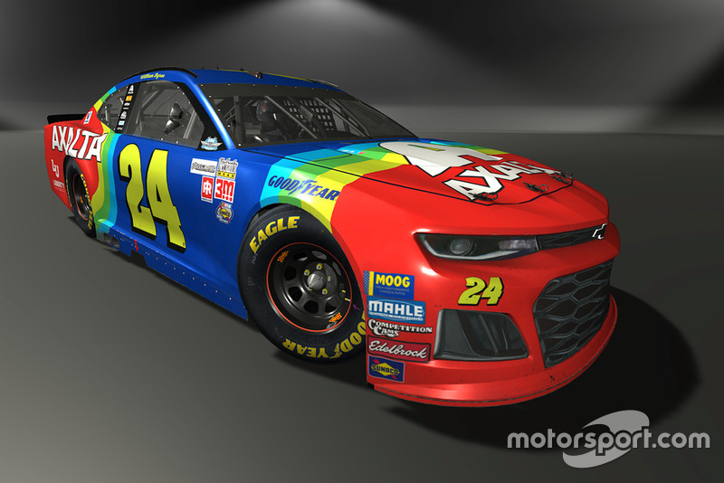 William Byron, Hendrick Motorsports, Chevrolet Camaro - NASCAR Heat 3 skin