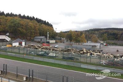 Spa-Francorchamps renovatie