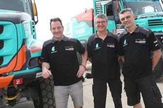 #509 Team De Rooy Iveco: Ton van Genugten, Bernard Der Kinderen, Peter Willemsen
