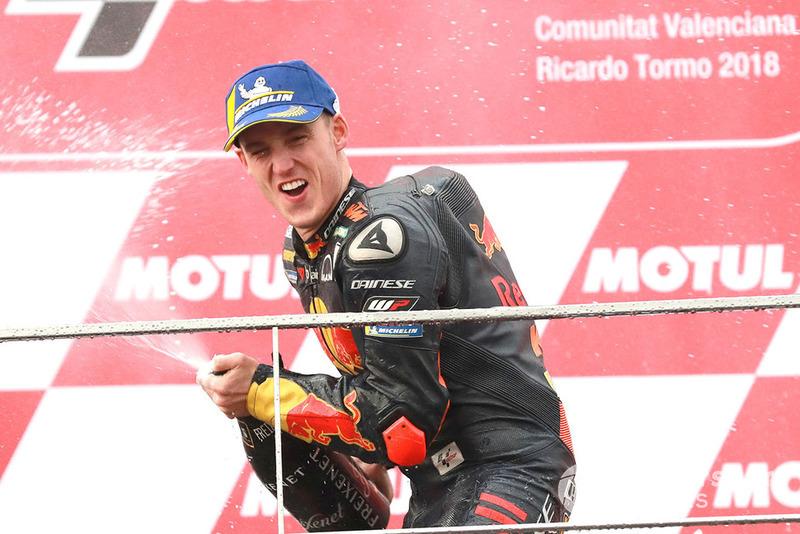 Podio: tercero, Pol Espargaro, Red Bull KTM Factory Racing