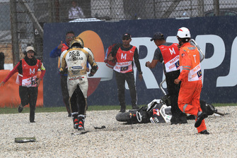 Karel Abraham, Angel Nieto Team after crash