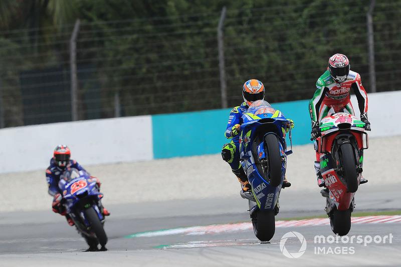Алейш Еспаргаро, Aprilia Racing Team Gresini, Алекс Рінс, Team Suzuki MotoGP
