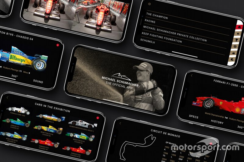 L'application officielle Michael Schumacher