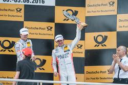Podium, Robert Wickens Mercedes-AMG Team HWA, Mercedes-AMG C63 DTM