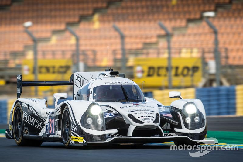 15: #31 Extreme Speed Motorsports Ligier JS P2 Nissan: Ryan Dalziel, Chris Cumming, Pipo Derani