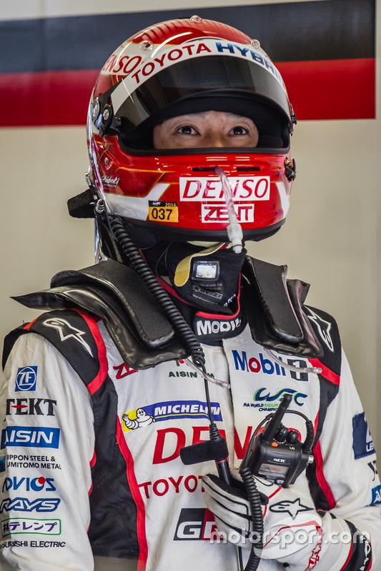 #5 Toyota Racing Toyota TS050 Hybrid: Kazuki Nakajima listo para una última temporada