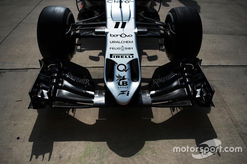 Force India F1 VJM09: Frontflügel