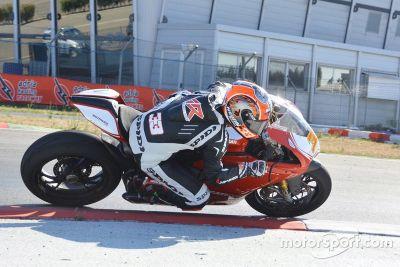 Ducati Adria test