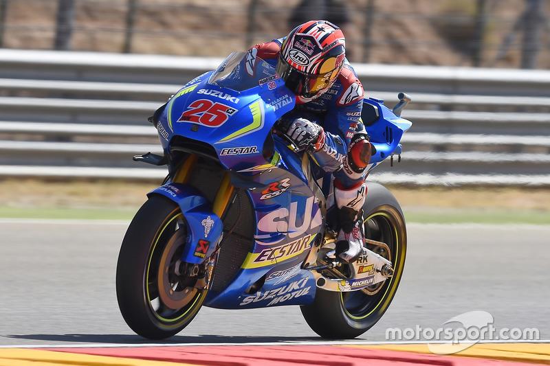 4. Maverick Vinales, Team Suzuki Ecstar MotoGP