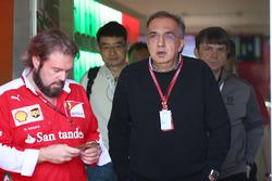 Серджио Маркионне, президент Ferrari и генеральный директор Fiat Chrysler Automobiles
