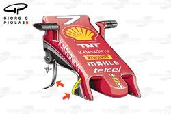 Ferrari SF16-H old nose, Malaysian GP