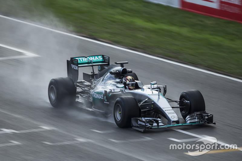 Pascal Wehrlein, Mercedes F1 Team prueba neumáticos de Pirelli 2017-spec