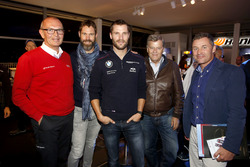 Harry Unflat, Audi Sport Team Abt Sportsline; Martin Tomczyk, BMW Team Schnitzer, BMW M4 DTM; Norbert Haug,, ARD-TV Expert; Tom Kristensen (DNK) Le Mans Legende