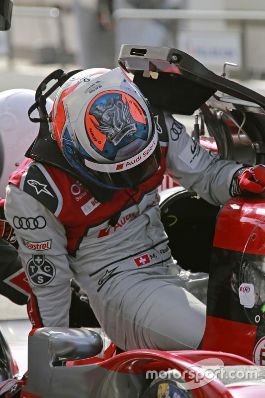 #7 Audi Sport Team Joest Audi R18: Marcel Fässler