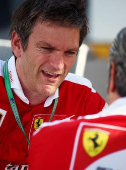 Джеймс Эллисон, директор по шасси Ferrari