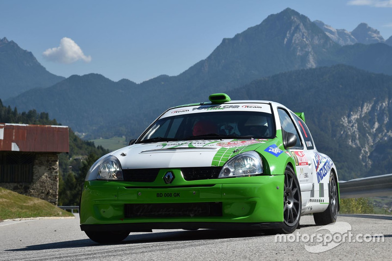 Matteo Dapra, Fabio Andrian, Renault Clio S1600, Power Car Team