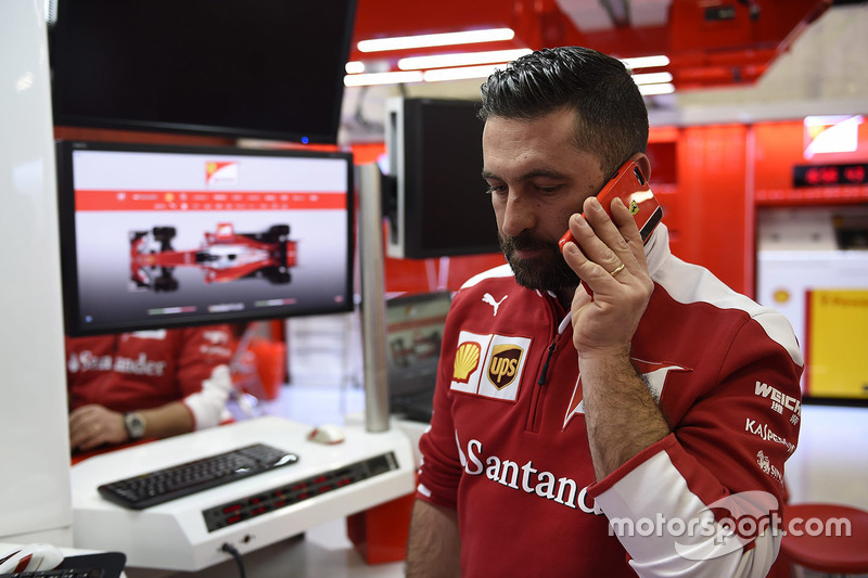 Ferrari engineer