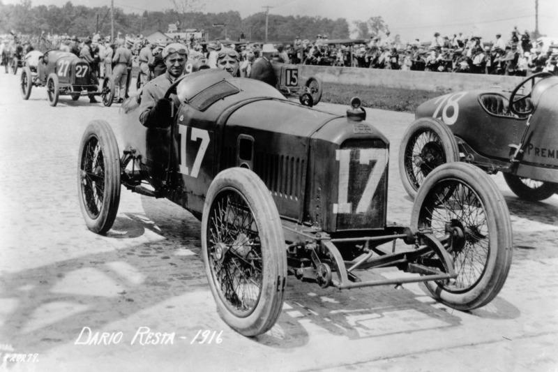 1916: Dario Resta