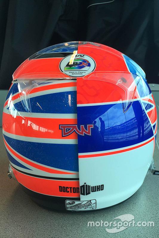 Le casque Indy 500 de Stefan Wilson