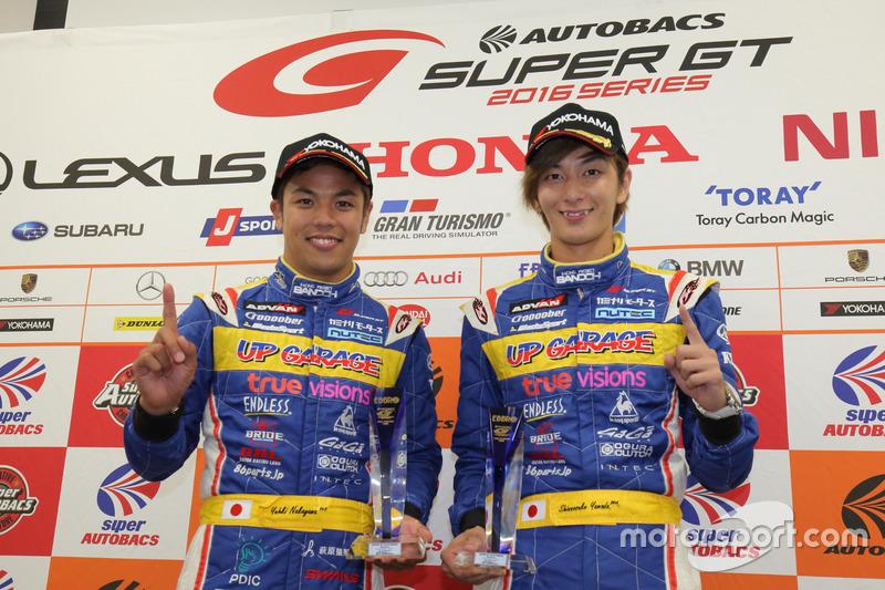 GT300 pole: #18 Team Upgarage With Bandoh Toyota MC86: Yuhki Nakayama, Shinnosuke Yamada