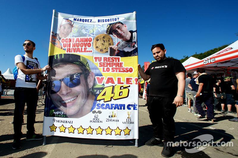 Fans van Valentino Rossi, Yamaha Factory Racing