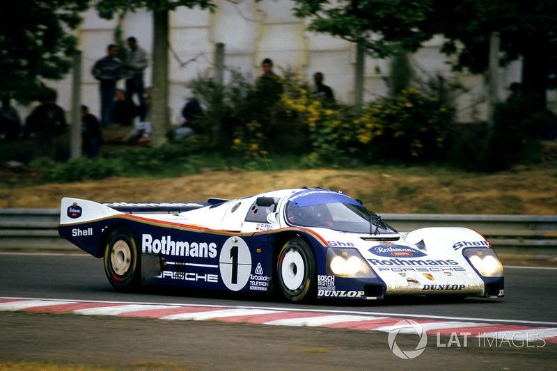 1986: Derek Bell, Hans-Joachim Stuck, Al Holbert, Porsche 962C