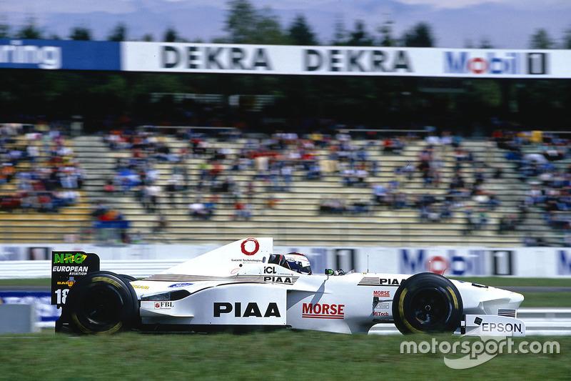 #18: Jos Verstappen, Tyrrell 025
