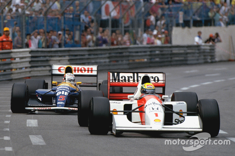 1992: McLaren MP4-6B / Honda RA121E и MP4-7A / Honda RA122E/B