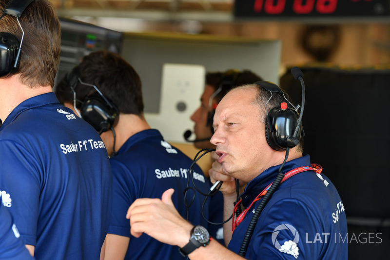 Frederic Vasseur, Sauber Director del equipo
