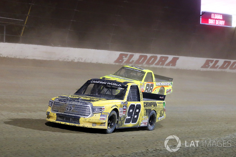 Grant Enfinger, ThorSport Racing Toyota y Matt Crafton, ThorSport Racing Toyota