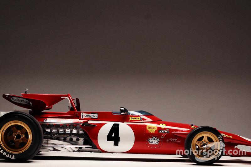Ferrari 312B після відновлення командою Motortecnica на чолі з Мауро Форг'єрі