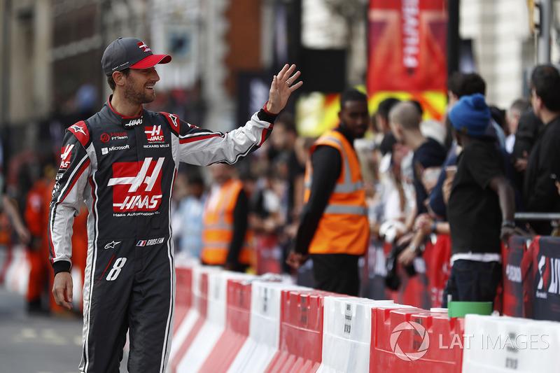 Romain Grosjean, Haas F1 Team y los fans