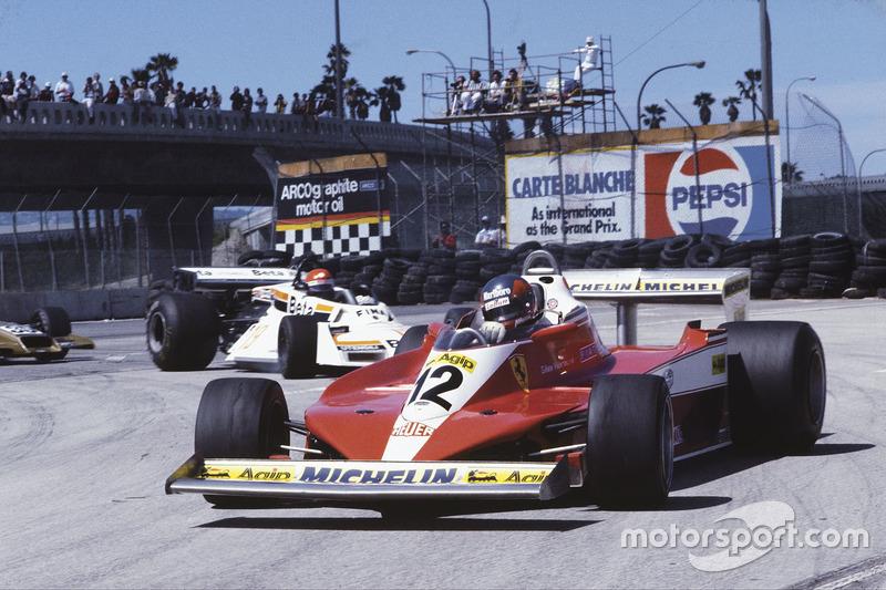 1978: Ferrari 312T3 (четыре победы, 2-е место в КК)