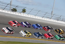 Brad Keselowski, Team Penske Ford Kasey Kahne, Hendrick Motorsports Chevrolet Ryan Reed, Roush Fenway Racing Ford