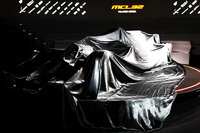 McLaren MCL32 sotto il telo