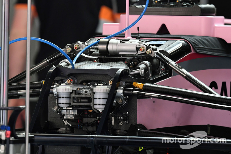 Force India VJM10 front detail