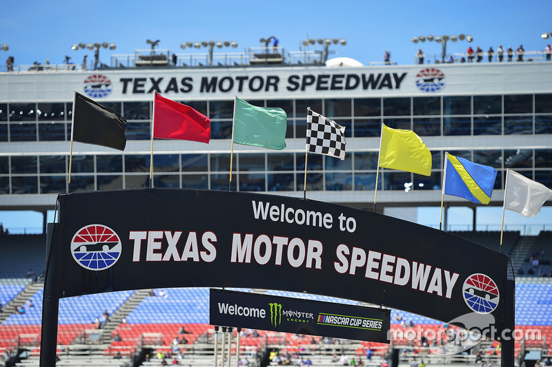 Texas Motor Speedway sign and suites