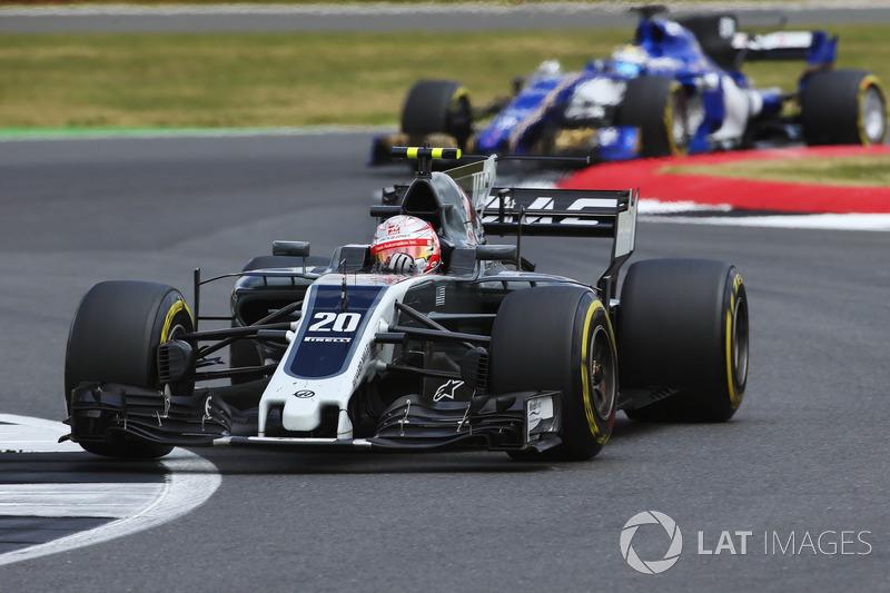 Кевін Магнуссен, Haas F1 Team VF-17, Маркус Ерікссон, Sauber C36