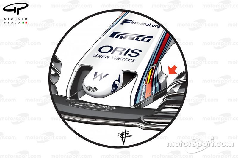 Новий ніс Williams FW40, Гран Прі Великої Британії