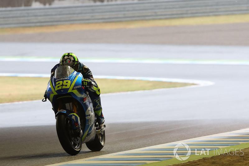 15. Андреа Янноне, Team Suzuki MotoGP - 50 очок