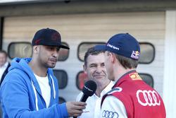 JP Krämer, Tuning specialist mit Tom Kristensen and Mattias Ekström, Audi Sport Team Abt Sportsline, Audi A5 DTM