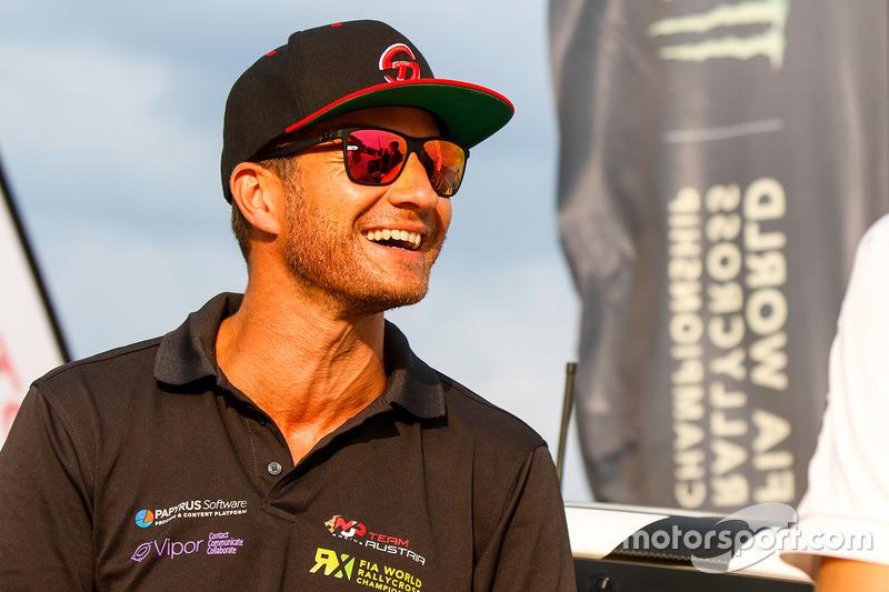 Тимо Шайдер,MJP Racing Team AustriaFord (WRX, 10-е место в общем зачете, 109очков, один подиум)
