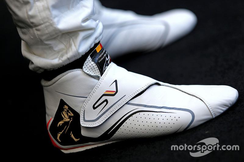 Schuhe von Stoffel Vandoorne, McLaren